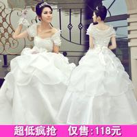 2012 bride wedding formal dress sweet elegant wedding dress royal vintage qi in wedding 1116