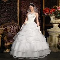 The bride wedding dress formal dress 2012 wedding vintage royal tube top sweet elegant wedding dress 1297