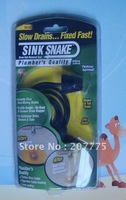 New Sink Snake Drain Hair Removal Kit 120pcs/lot