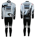 Free shipping SAXO BANK SunGard Long sleeve cycling jersey and pants set/bicycle clothes/Ciclismo jersey/cycling Clothes sets