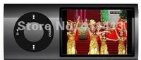 Smart 20pcs/lot 5th Gen MP4 8GB FM wheel scroll Camera MP4 player Free shipping+top quality