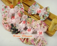 Girls/Kids/Infant/Baby New garden flower Hair clips/Bow clips/Hair Pins/ Kroean Style/Fashion Gift/Whole FreeShipping