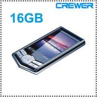 "mp3 player mp4 player 16GB New Slim 1.8""LCD  MP4 Radio FM Player Free Gift"