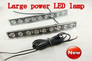2012driving light LED driving lights flashing traffic lights power daytime daytime running lamp, free shipping