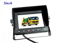 5inch Car LCD Monitor,3 Video inputs & 2 Audio Inputs,with AV IN