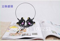Free shipping  Japan Rilakkuma Bear cartoon Headphone / Headset / MP3 Earphone.Fashion earphone / Headphone / wholesale