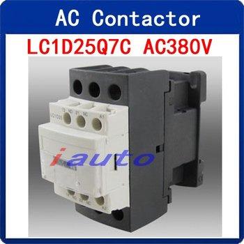 6KV Uimp AC 380V 3P+NO+NC Contactor LC1D25Q7C for Electric Motor