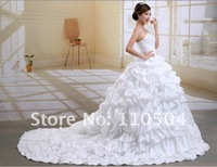 2012 new Korean elegant straps Bra wedding Korean Princess luxury trailing wedding