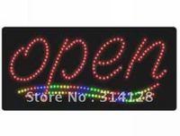 """""""OPEN"""" LED signs(model NO:HSO0005) 229LED(R:173pcs;G:17pcs;B:18pcs;Y:21pcs) 1PCS"""