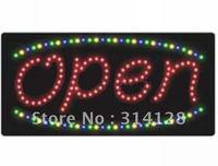 LED sign (model NO:HSO0006) 153LED (R:89pcs;G:22pcs; B:20pcs;Y:22pcs) 1PCS