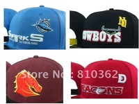 wholesale latest nrl all 16 teams 54 styles snapback caps/hats,mixed order snapbacks 4pcs/lot