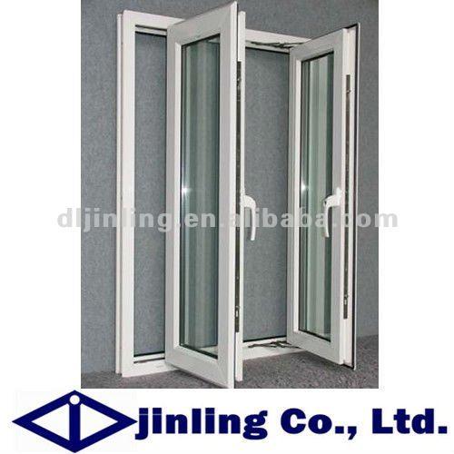 Thermal break aluminium casement window double door design from Wholesale  in China. Thermal break aluminium casement window double door design from