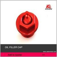 Cakenmotor Brand New CRF250R/X'10-12   CRF450 R/X 09-12 CNC alloy OIL FILLER CAP