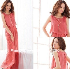 Evening Maxi Dress on Free Shipping Cute And Elegant Chiffon Dress Party Dress Evening Dress