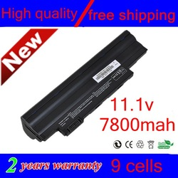 High quality NEW 9 CELL Laptop Battery For Acer Aspire One D255 D260 522 722 AO722 AL10A31 AL10G31 black FREE SHIPPING(China (Mainland))