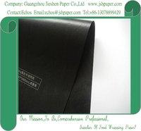 40gsm Black Glassine Paper