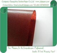 40gsm Coffee Glassine Paper