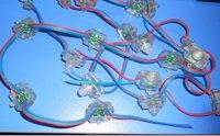 RGB full LED pixel module (WS 2811IC) ;DC5V input,50pcs a string;IP68
