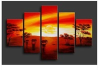 LARGE ART OIL PAINTINGS-HUGE CONTEMPORARY MODERN ABSTRACT ART GALLERY K74