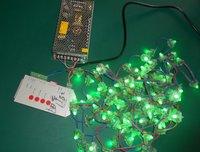 50pcs WS2811 pixel node(square model)+1pcs 5V/60W power supply+ SD card pixe module controller(pre-set,easy to use)