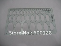 5105 Ellipse template , Drawing template ,  Ruler , Wholesale and retail