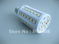 60 LED SMD Corn Light Bulb Lamp E27 12W 220V -230V Warm White  free shipping