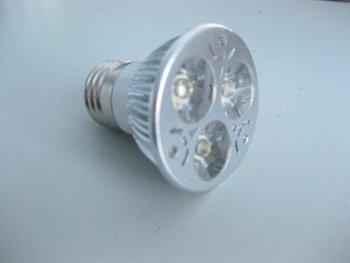 DHL Free shipping 3w E27 LED SPOT LIGHT