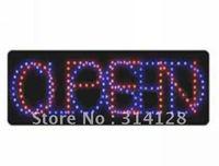 LED open sign (model NO:HSO0008) 206LED (R:91pcs; B:115pcs) 1PCS