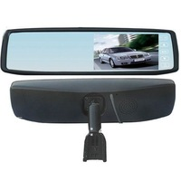 "Free shipping 1pc/lot Brand new 4.3"" TFT-LCD Special Rear View Mirror Car Monitor new style 4.3 inch car mirror monitor"