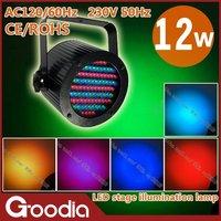 Освещения для сцены 144pcs led par64 with remote control, AC220V, CE & ROHS, change color, color fixed, mix color, voice control, automatic, flashing