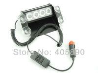 Предупреждающие индикаторы 3LEDX4 12 LED Car Strobe Light 12V Flash Warning Light 51035-4
