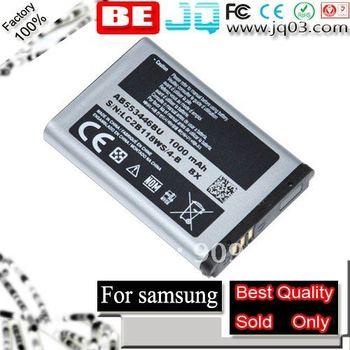 100%1000mah AB553446BU GT-C3300 C3300 GT-B2100 B2100 C5130 GT-C5212 C5212 E2121B Battery Bateria Batterij Akku Batterie Free