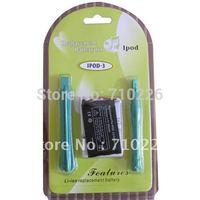 850mAh Replacement Battery for IPOD3 3rd GEN ipod 3 Gen 3G +TOOL, 1pcs/lot