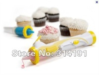 Free Shipping 20pcs, Battery-Powered Frosting Deco Pen Cupcake Decorating Cakes,as seen on TV