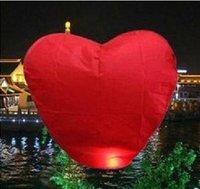 20pcs/lot KongMing Balloon Chinese Sky/fire Red Heart Lanterns Wedding/Birthday Wishing Balloon-FREE SHIPPING