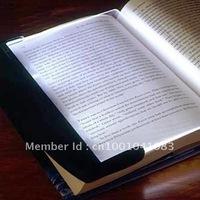 Free Shipping Paperback Nightlight - ABS Plastic LED Reading Light Wedge Panel Book Light