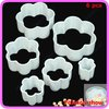 Free Shipping 3sets/lot Flower Shape Cutter Sugarcraft Cake Decorating Modelling Tool