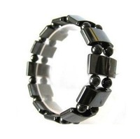 Hot Fashion Jewellery Beautiful Stylish Black Magnetic Lapis Men&#39;s Bracelet bangle adjustable mix order 50pc/lot ~ free shipping