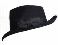 Men's Soft&Crushable Wool felt Fedora, Wool Felt Hat, Micheal Jackson Hat