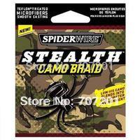10pcs Spiderwire Stealth Camo Braid Fishing Line 300yd 15lb 30lb 50lb 65lb 80lb