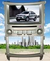 "2012 cheapest 6.95"" HYUNDAI VERACRUZ ) car DVD player with GPS  Bluetooth Win CE6.0 128M memory Ipod Free Shipping"
