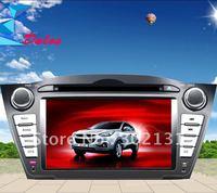 "2012 cheapest 7"" Hyundai IX35   car DVD player with GPS  Bluetooth Win CE6.0 128M memory Ipod Free Shipping"