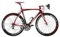 Wholesale! Pinarello Prince / carbon bike frame / red / road bicycle frame+fork+seatpost+clamp+headset