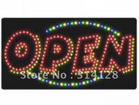LED open sign (model NO:HSO0013) 292LED (R:167pcs;G:14pcs;B:14pcs;Y:97pcs) 1PCS