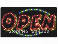 LED open sign (model NO:HSO0013) 292LED (R:167pcs;G:14pcs;B:14pcs;Y:97pcs) 5PCS
