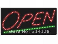 LED open sign (model NO:HSO0016) 137LED (R:106pcs;G:31pcs) 1PCS
