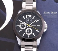 Men watch  stainless steel  with quartz  watch  free shipping