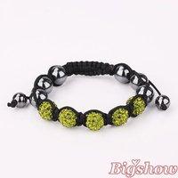 Браслет из бисера Shamballa Charm crystal Ball Bead Bracelet New Shambhala bracelet