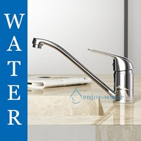 New Classic Chrome Brass Kitchen Sink Faucet Mixer Tap F190
