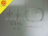 Original Projector Plastic Lens for INFOCUS X7